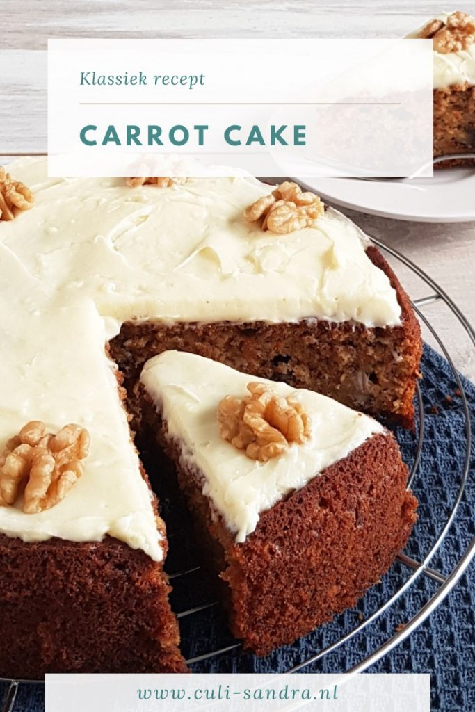 Carrot cake - worteltaart