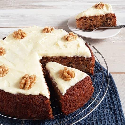 Carrot Cake of Worteltaart