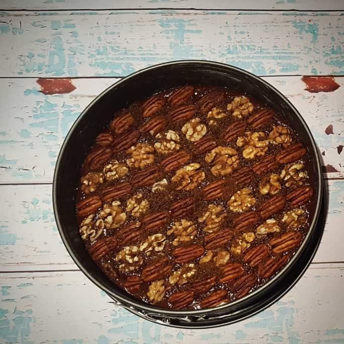 Chocolade notentaart