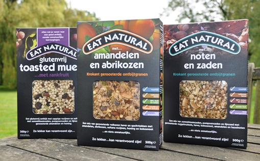 Eat Natural - Ontbijtgranen met noten en zaden