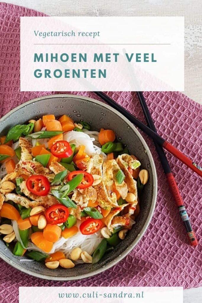 Vegetarisch recept mihoen