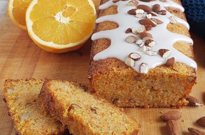 Recept sinaasappelcake met wortel