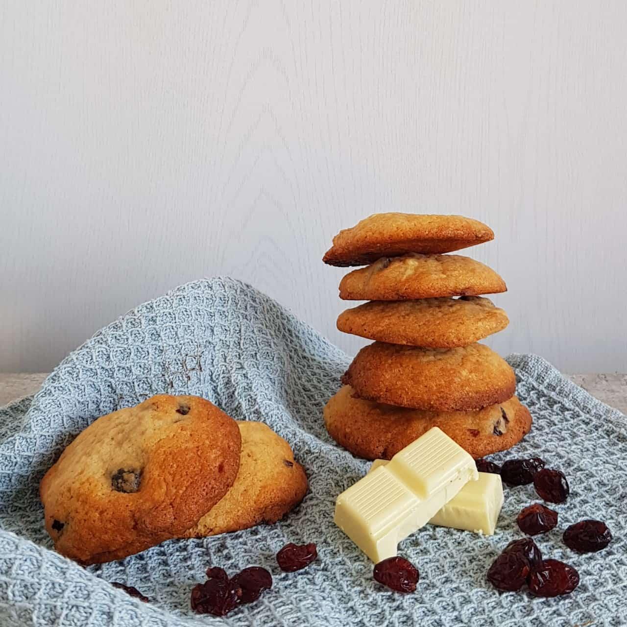 Witte chocolade koekjes