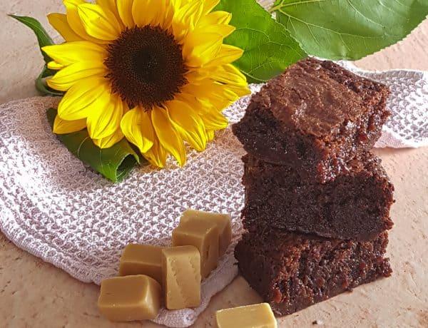Brownies met butterscotch