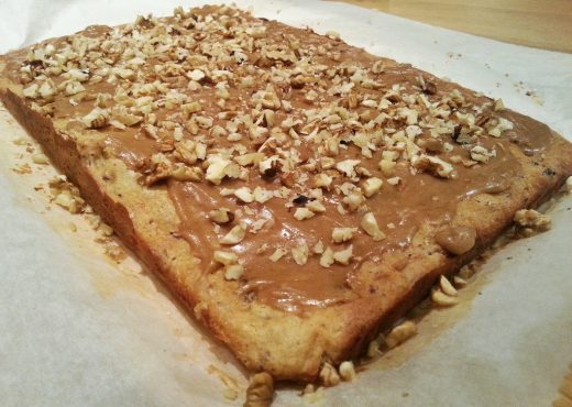Dadeltaart met sticky toffee topping