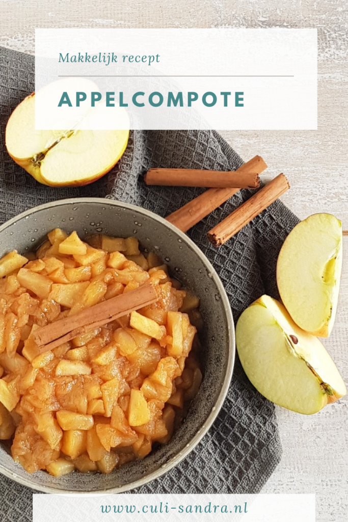 Appelcompote recept