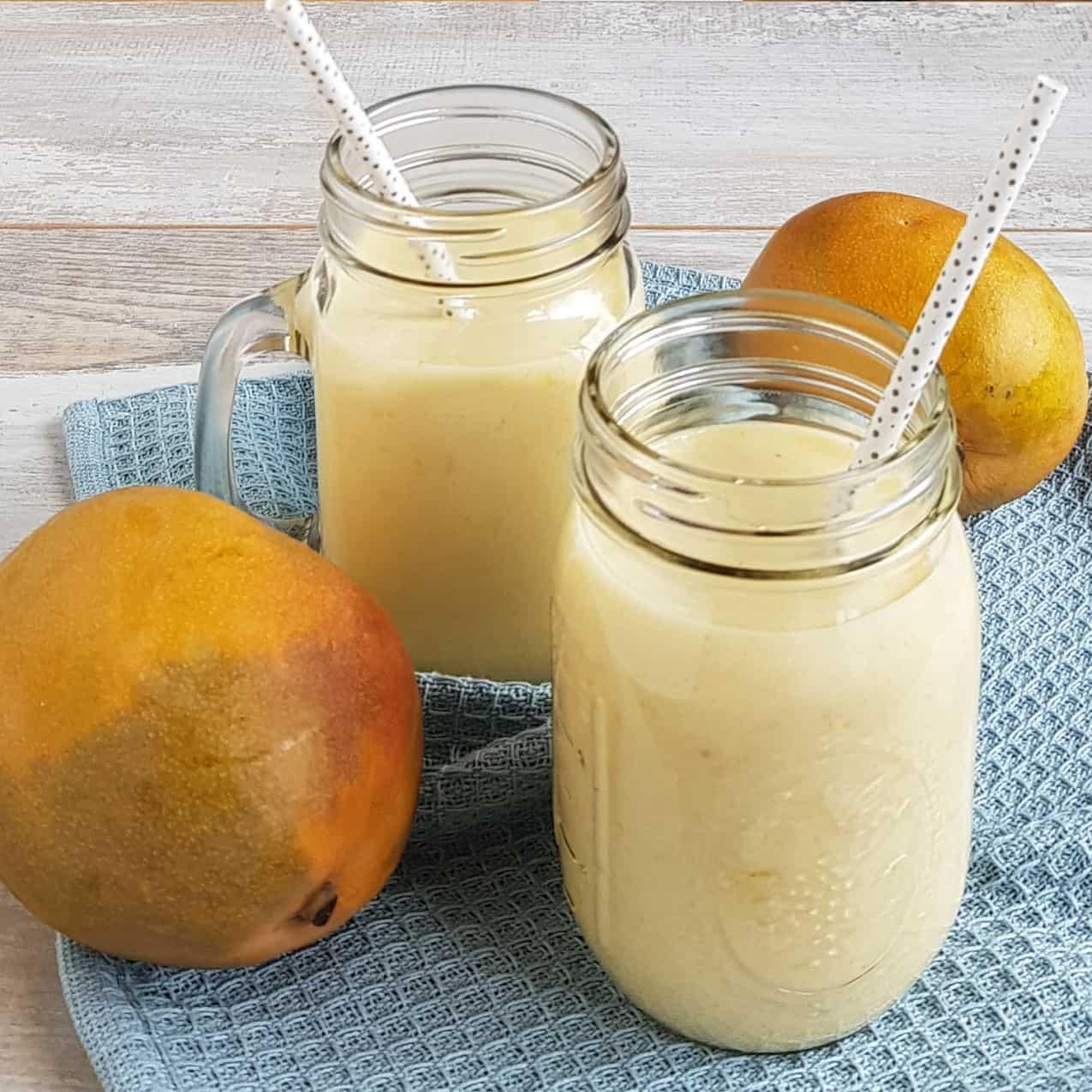 Smoothie met abrikoos en mango