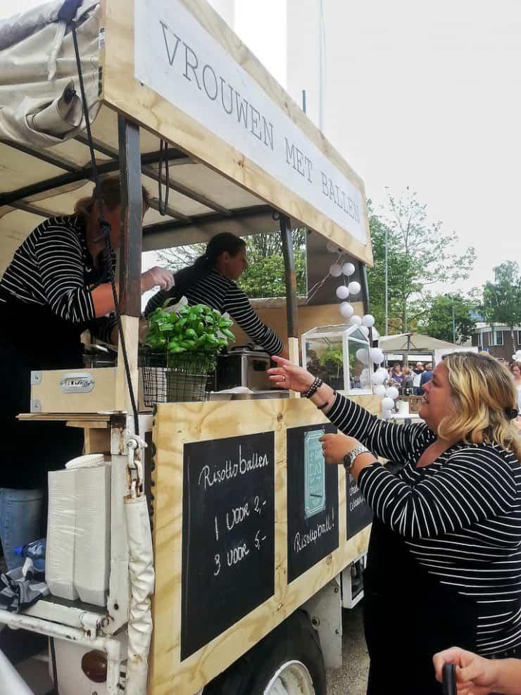 Foodfestival aan de Zaan