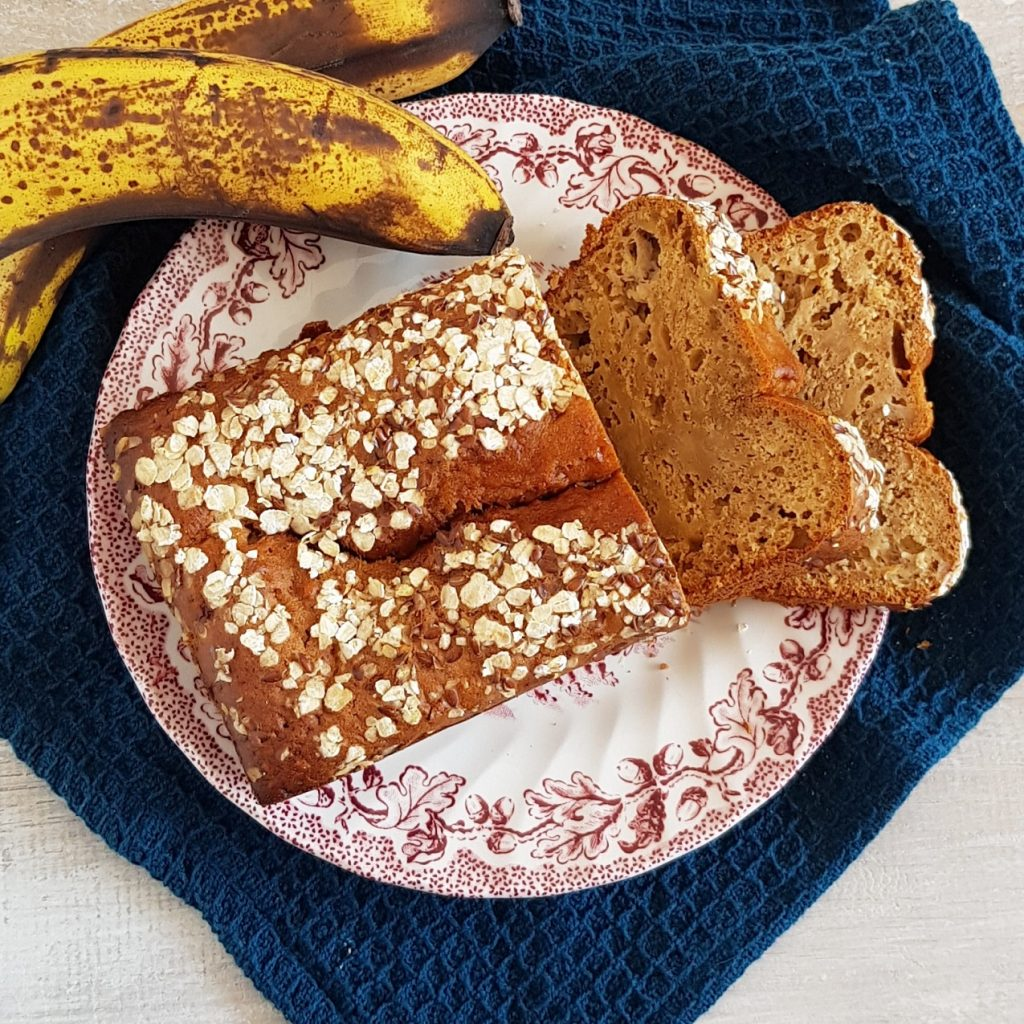 Bananenbrood met havermout