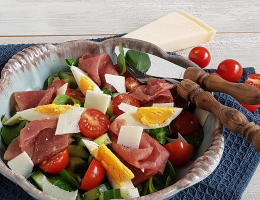 Rookvlees salade