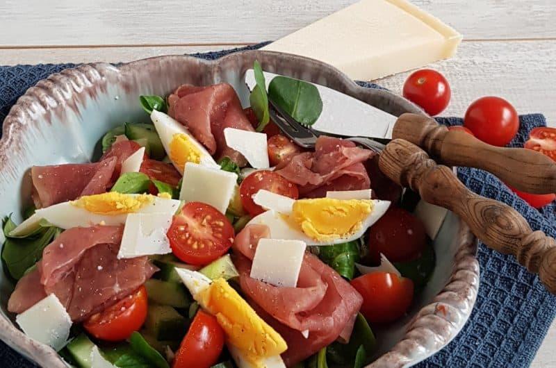 Werklunch - Salade met rookvlees