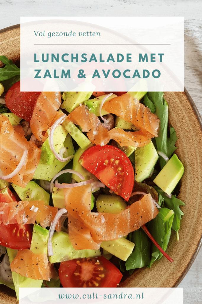 Recept salade met zalm en avocado
