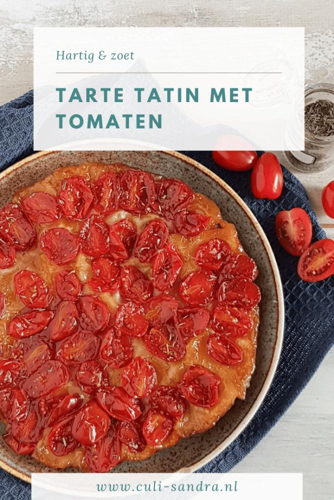 Recept tarte tatin tomaat