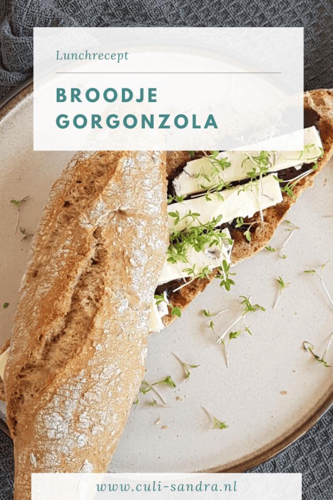 Recept broodje gorgonzola