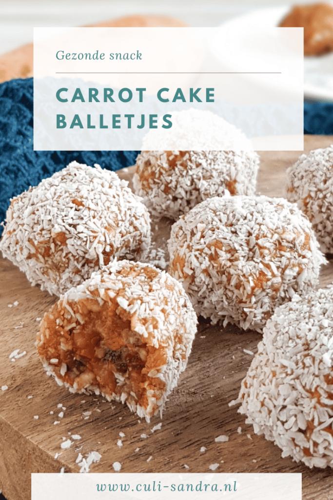 Recept carrot cake balletjes