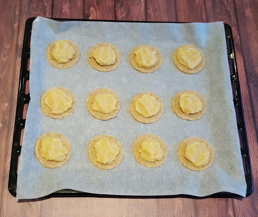 Gevulde koeken - halverwege!