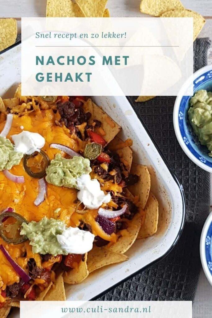 Recept nachos met gehakt