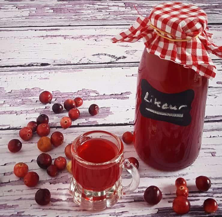 Cranberrylikeur - leuk voor Kerst
