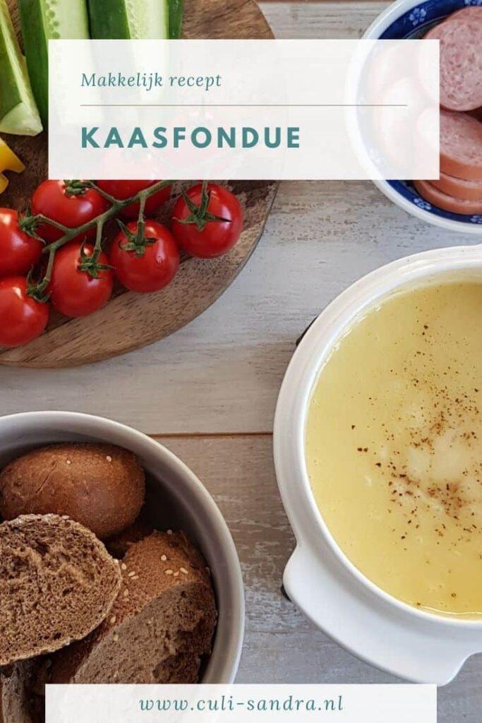 Recept kaasfondue