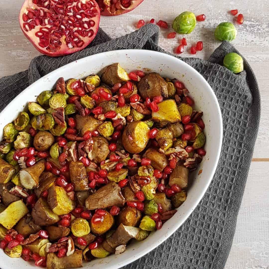 Spruitjes uit de oven
