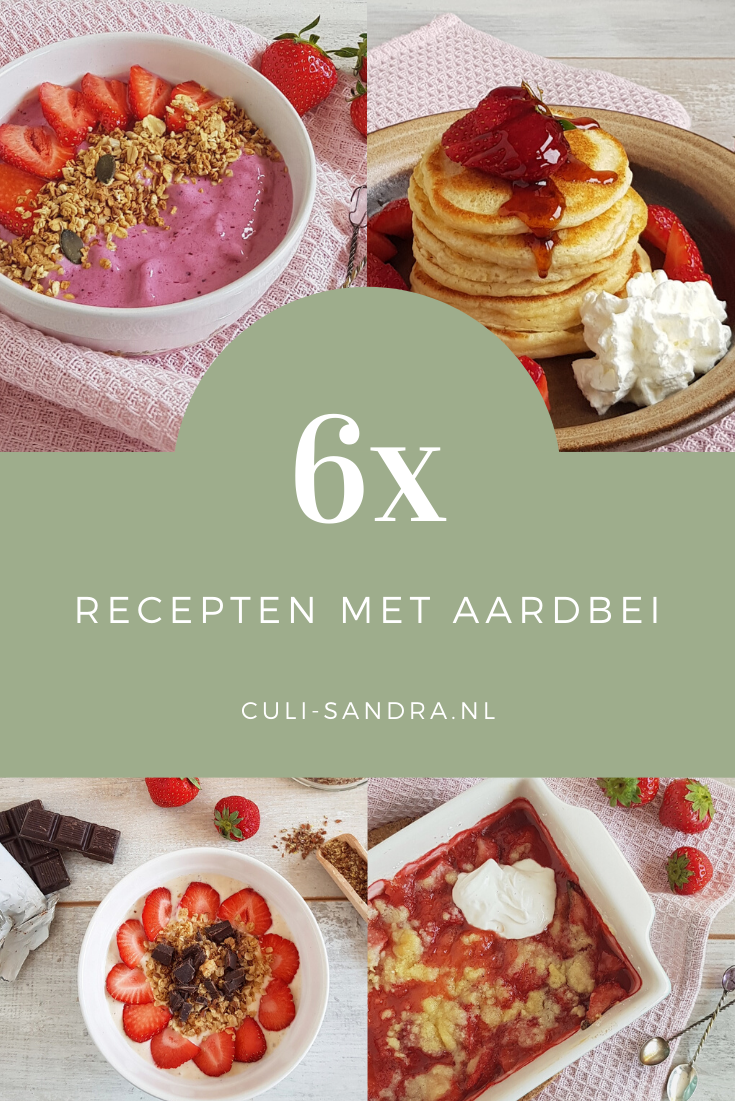 6x recepten met aardbei