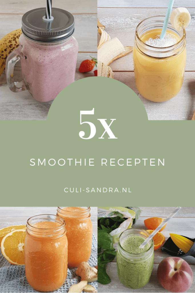5x smoothie recepten