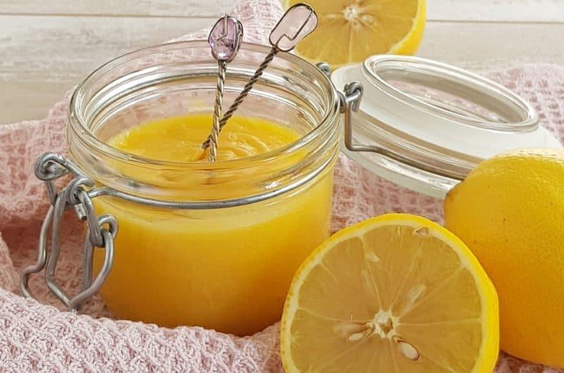Lemoncurd - heel makkelijk zelf maken