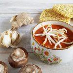 Oosterse tomatensoep - een heerlijk romige tomatensoep (vegetarisch)