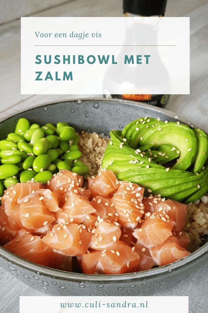 Recept sushibowl met zalm
