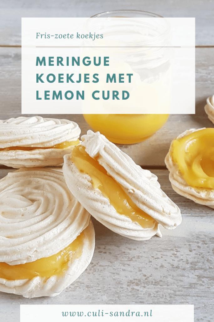Recept meringue met lemon curd