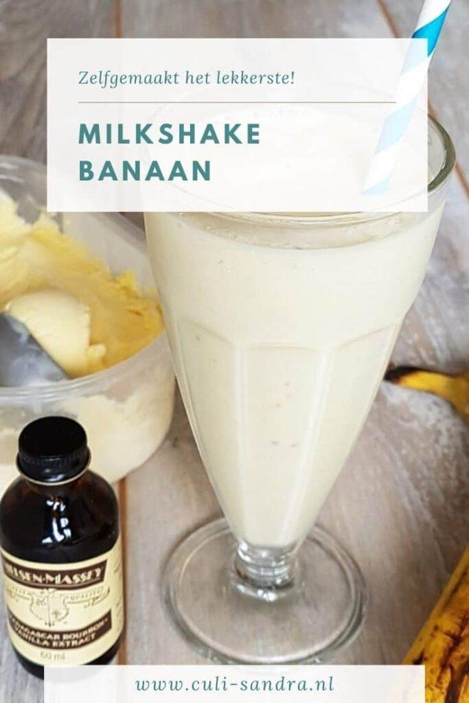 Recept milkshake banaan