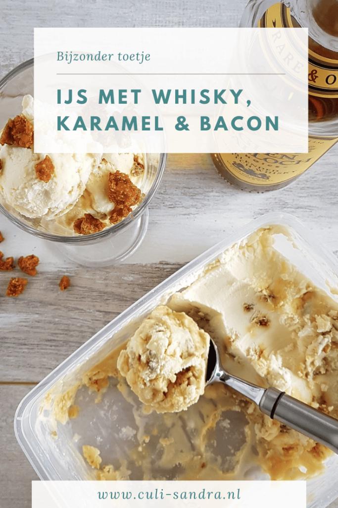 Recept whisky-ijs met bacon