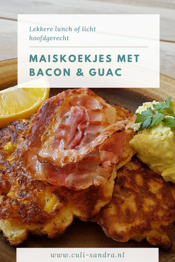 Recept maiskoekjes met bacon