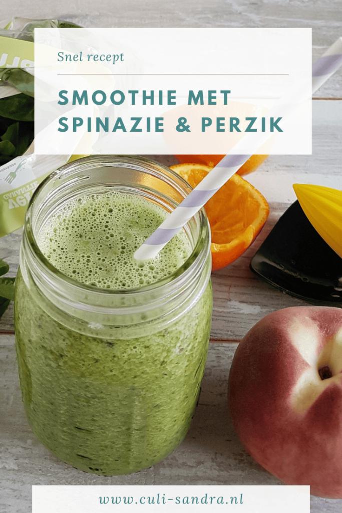 Recept smoothie met spinazie