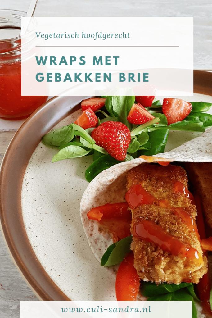 Recept wraps met brie