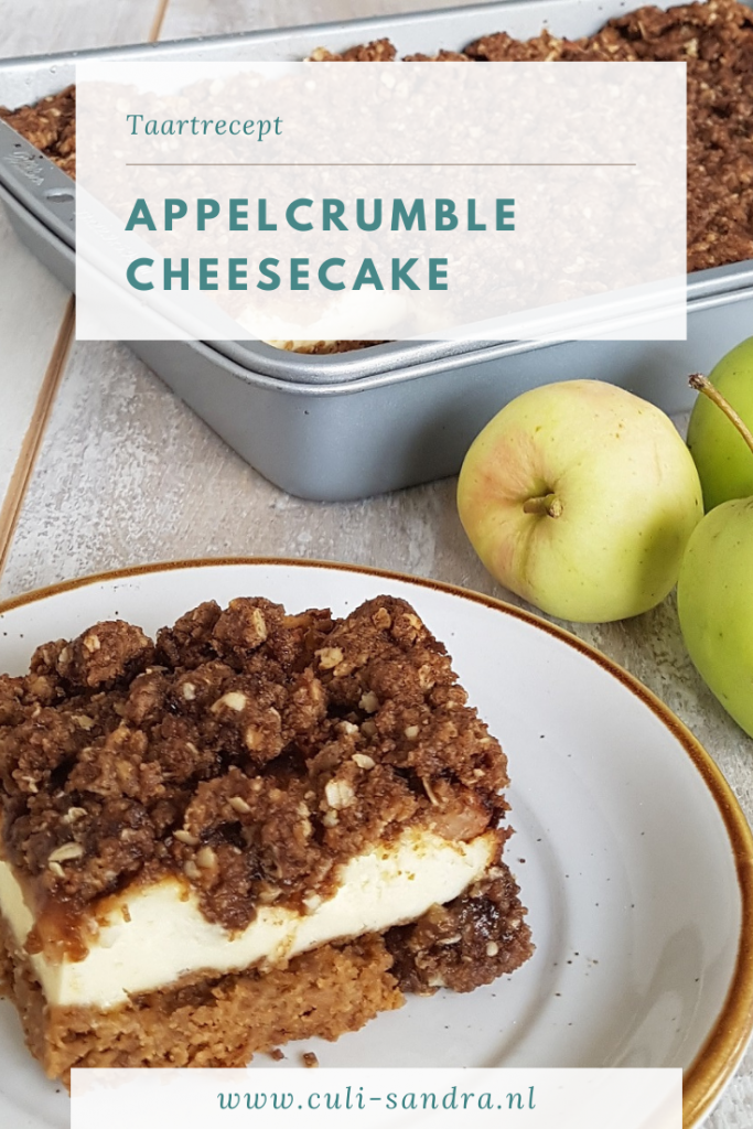 Recept appel cheesecake