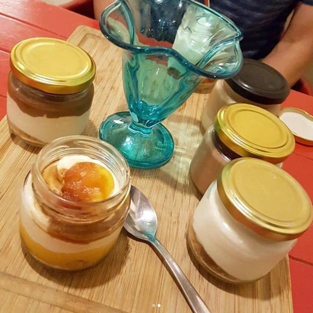 Cheesecake uit een potje in Sevilla