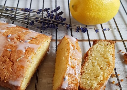 Lavendelcake met citroen
