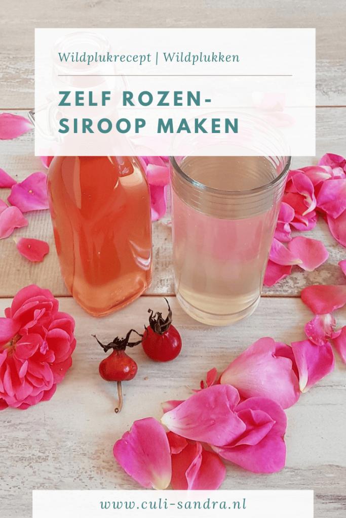 Recept rozensiroop