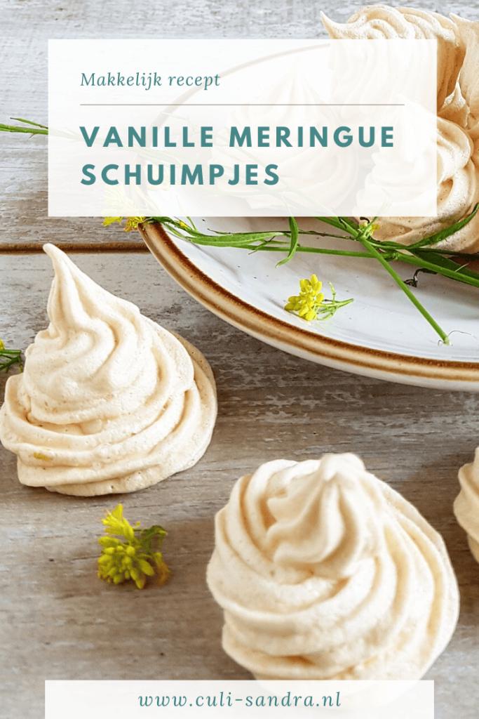 Recept vanille meringue