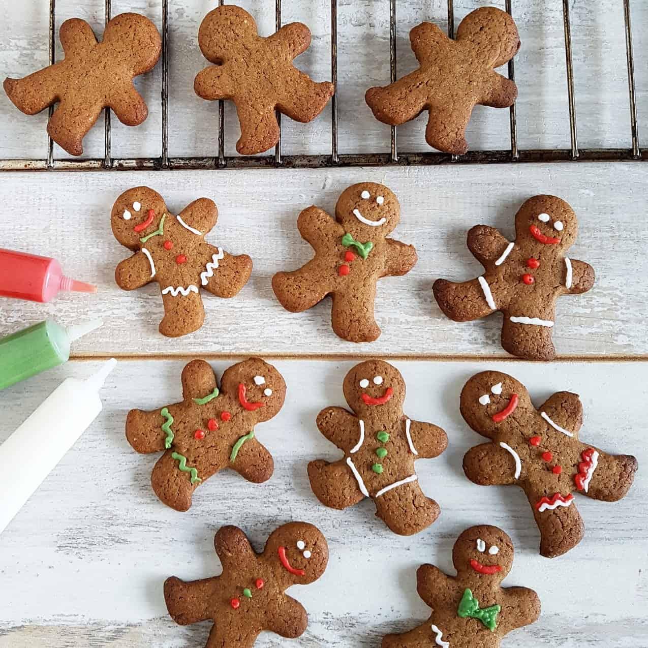 Gingerbread mannetjes maken is leuk!