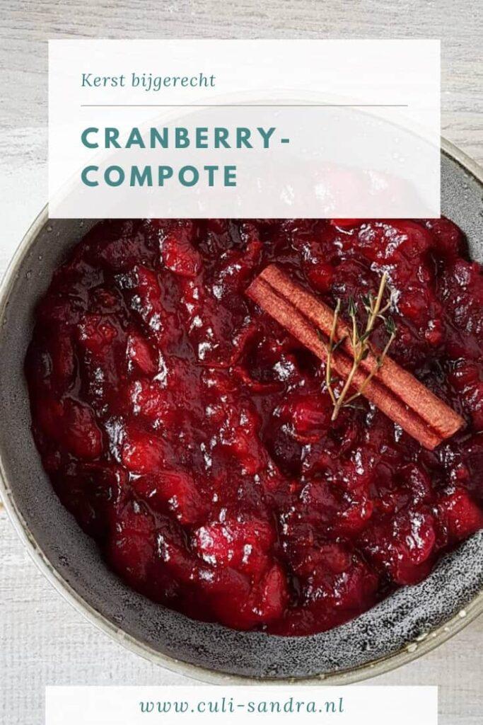 Recept cranberrycompote