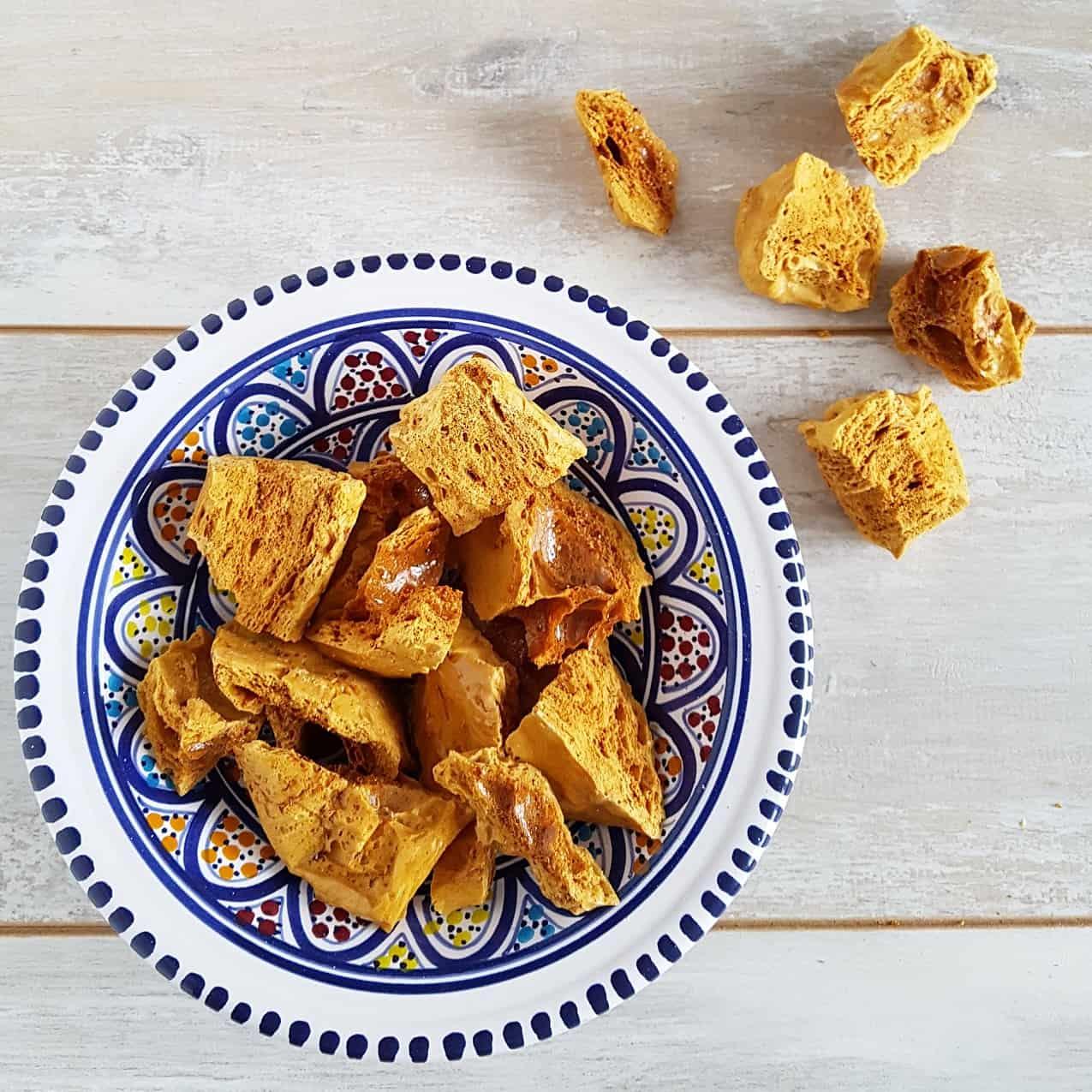 Honeycomb recept - zelf honeycomb maken