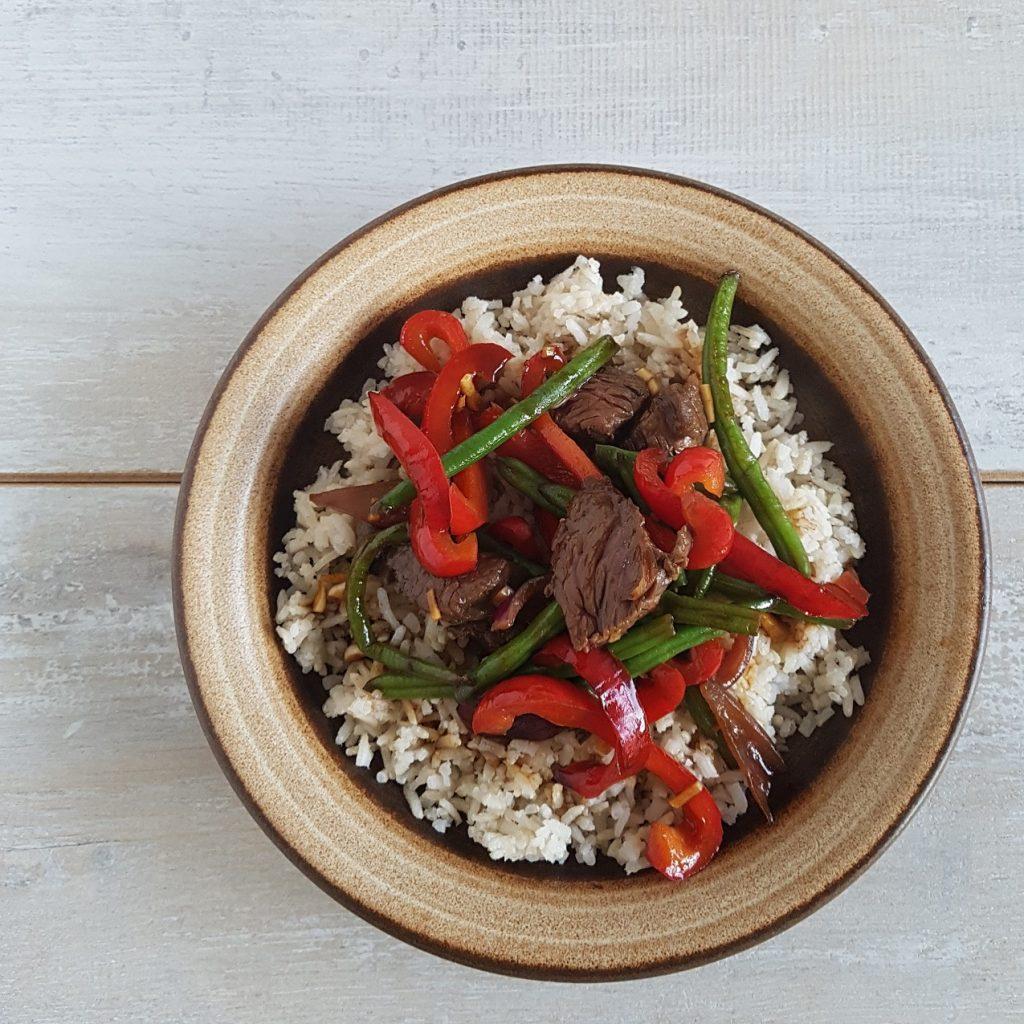Recept Beef Teriyaki - makkelijk en snel klaar