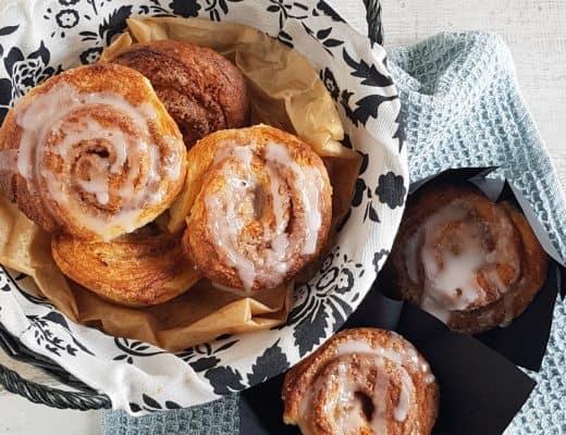 Cinnamon rolls - kaneelbroodjes