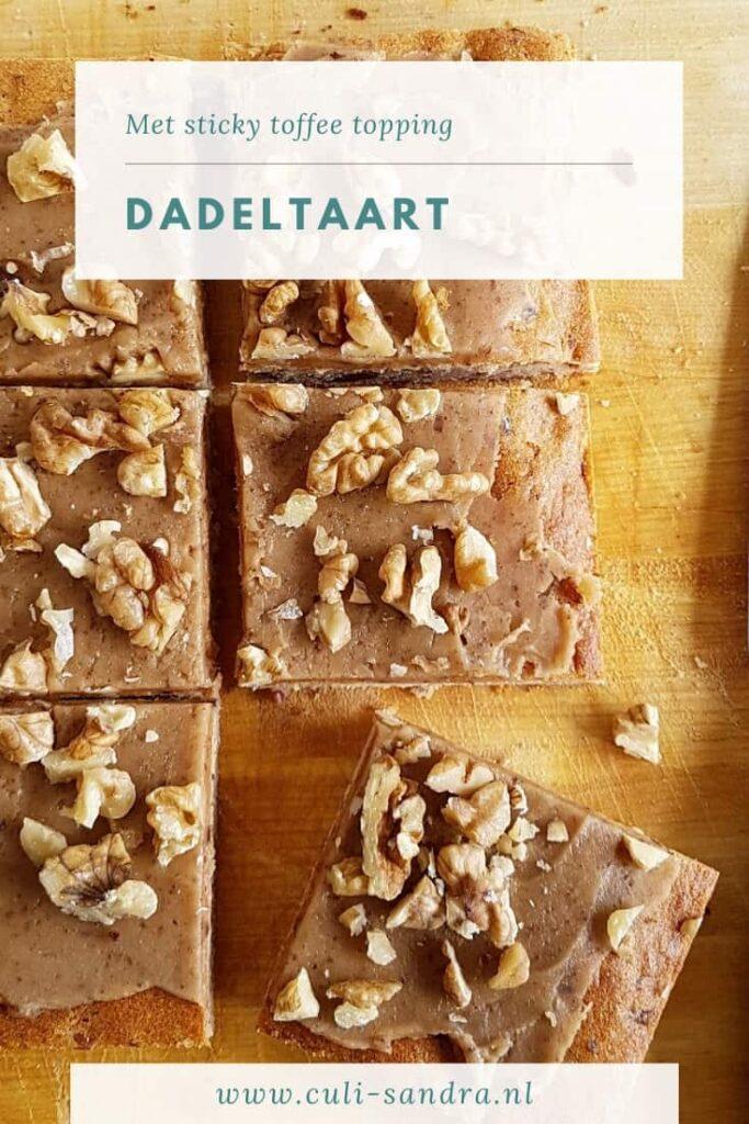 Recept dadeltaart