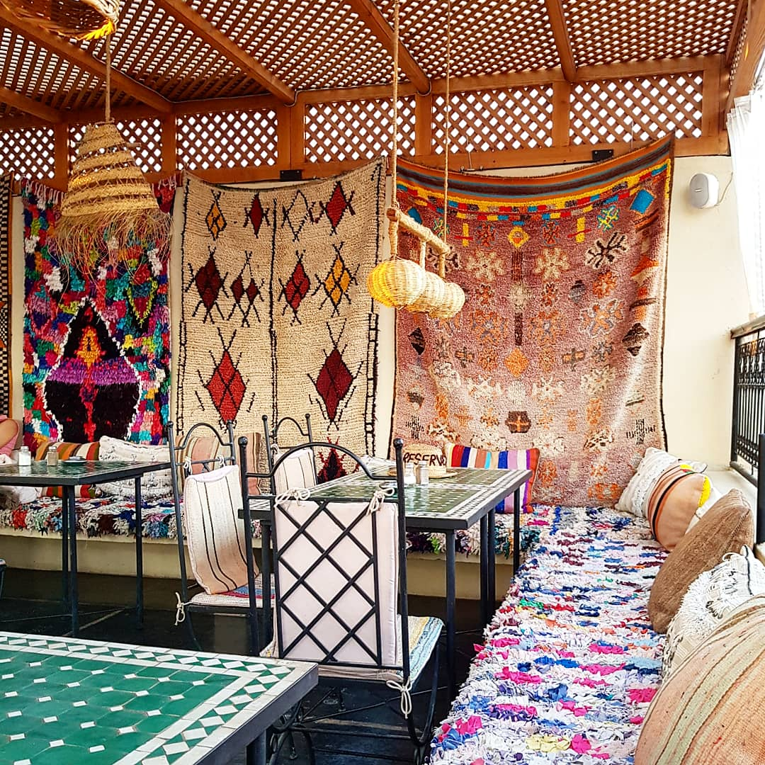 Kafé Merstan in Marrakech