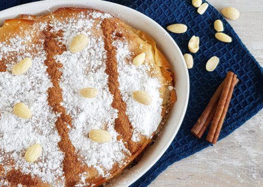 Pastilla - of bestilla - een Marokkaanse pastei met kip