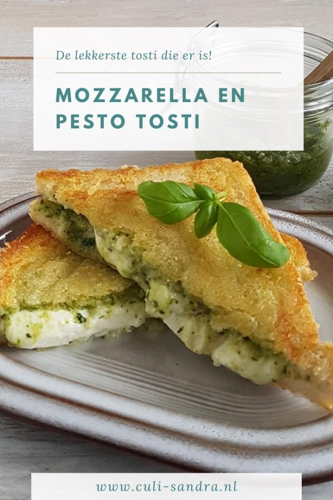 Recept tosti met mozzarella