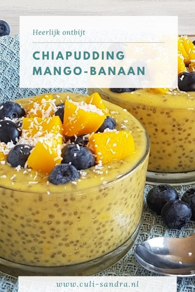 Recept chiapudding met mango
